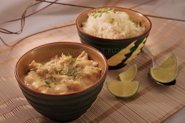 LA CUCINA DI MONIQUE: Pollo al latte di cocco, curry e succo di lime