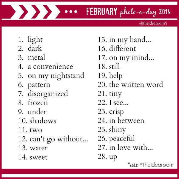 February-Photo-a-day-challenge @Amy Huntley (TheIdeaRoom.net)