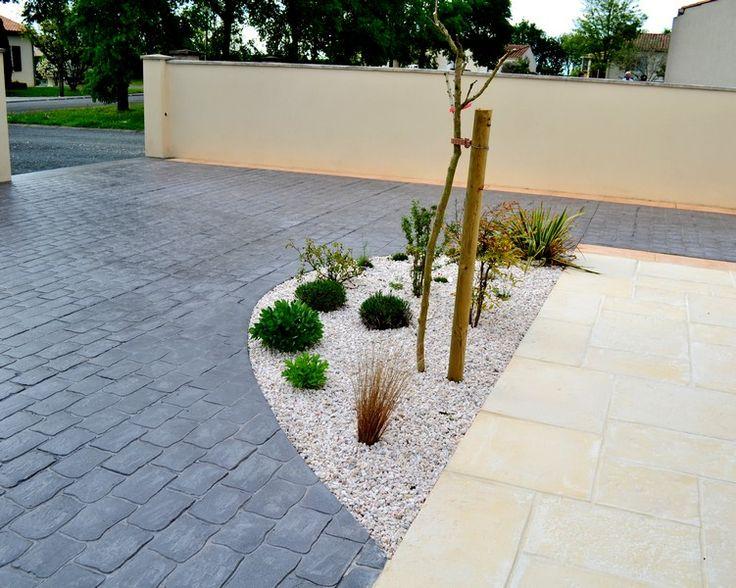17 best images about b ton imprim sols chemin terrasse all e on pinterest concrete. Black Bedroom Furniture Sets. Home Design Ideas
