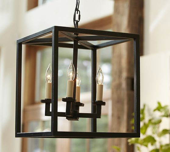 Talbot Indoor/Outdoor Lantern | Pottery Barn