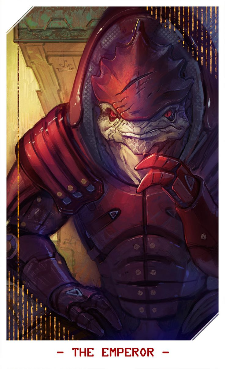ME: Wrex (The Emperor) by Alteya.deviantart.com on @DeviantArt