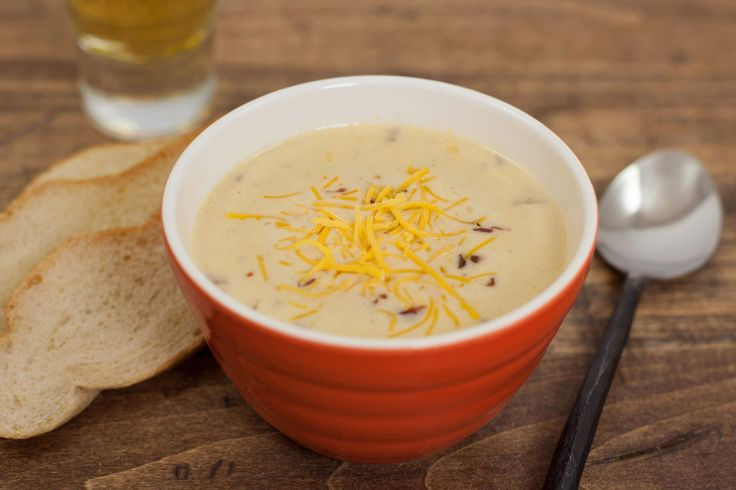 A Midwestern classic! This thick and cheesy soup gets a boost of flavor from your favorite beer and chunks of bacon as it stews in your slow cooker.