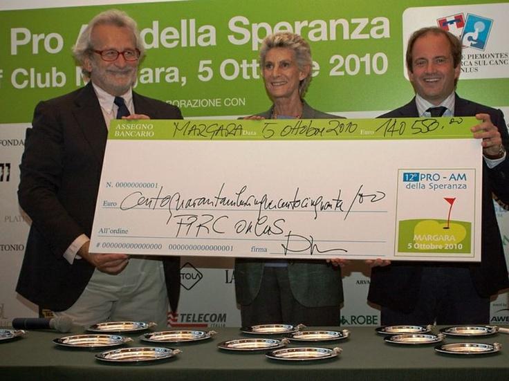 Pro Am della Speranza per la Fondazione Piemontese per la Ricerca sul Cancro: golf e solidarietà #nonprofit @fprconlus