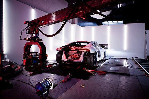 Making Off | Audi R8 V10 Plus Evolution on the Outside, Revolution on the Inside https://vimeo.com/60907090
