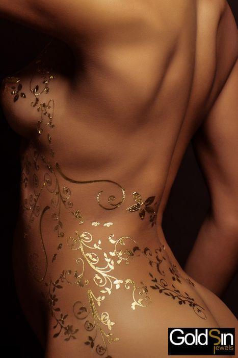 Bijoux de peau Or 24 carats - Créolift