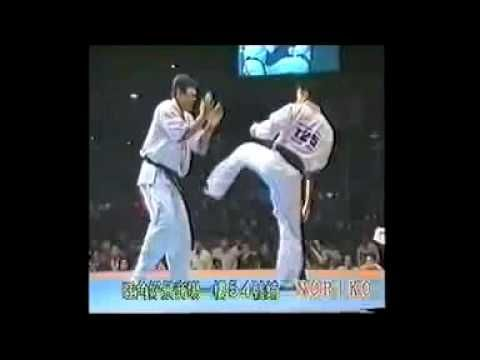 Best karate fights. I'd call that good karate. One hit one kill, get in fast with a head kick and down.