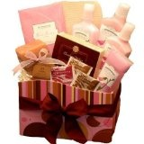 A Day at The Spa Care Package - Bath and Body Gift Basket - Spa Set (Health and Beauty)By Organic Stores
