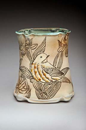 Becky Strickland pottery and ceramics at MudFire Gallery