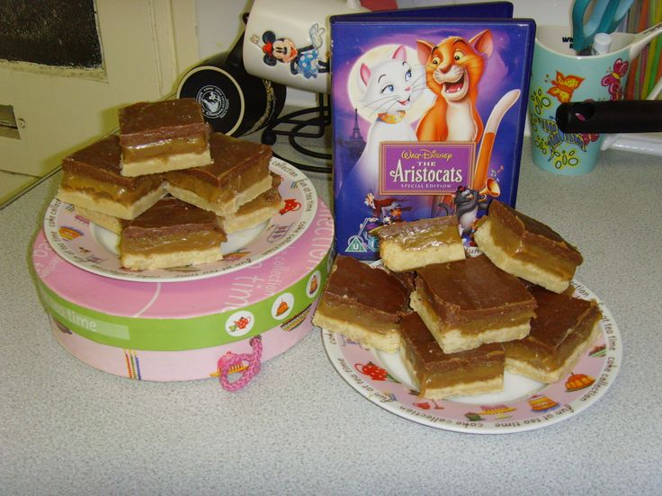 Millionaire's Shortbread for the Aristocats #disneybakes