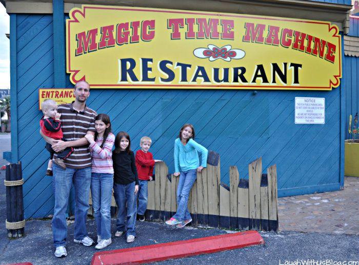 Magic Time Machine Restaurant