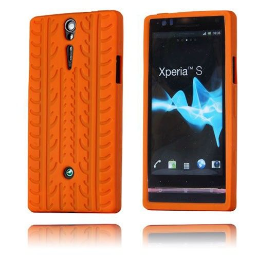Tire (Orange) Sony Xperia S Cover