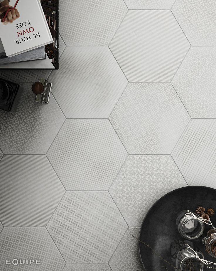 Urban Hexagon deco Mélange Light 29,2x25,4 cm
