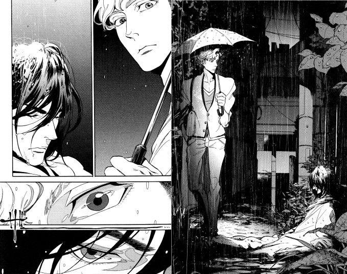 "Zakk, ""Canis"" BL manga"