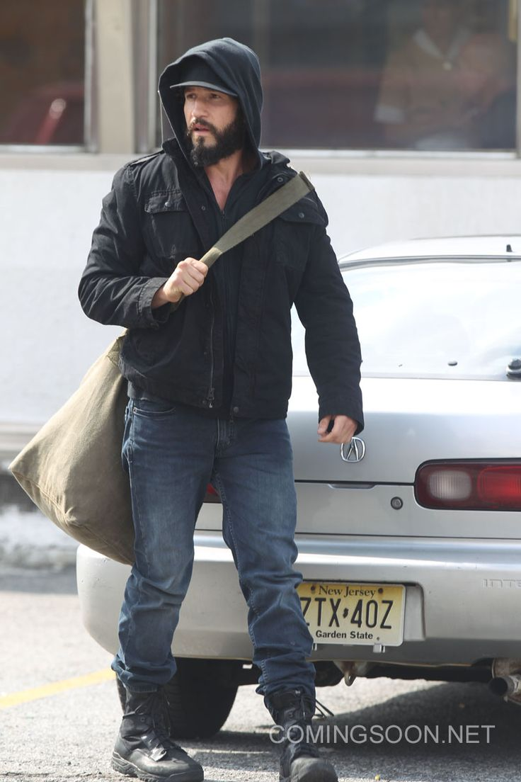 The Punisher : photos de Jon Bernthal en tournage à New York !!!                                                                                                                                                                                 Plus