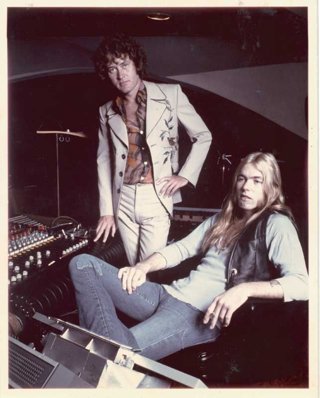 Phil Walden and Gregg Allman