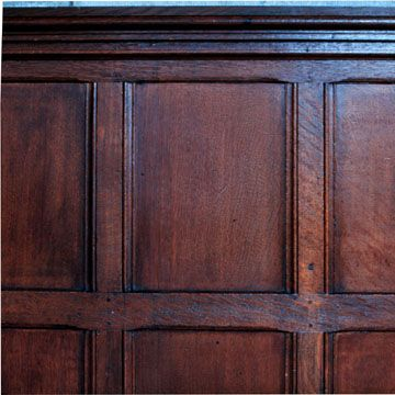 Old Library Paneling Guest Bedroom Remodel Wood Panel Walls