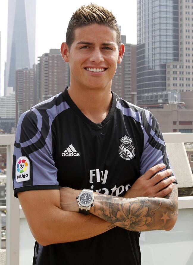 James tercera equitación Real Madrid temporada 2016-17