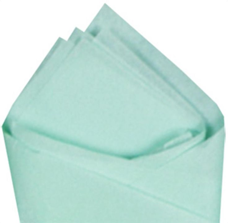 Cool Mint Tissue Paper - Wholesale Tissue Paper