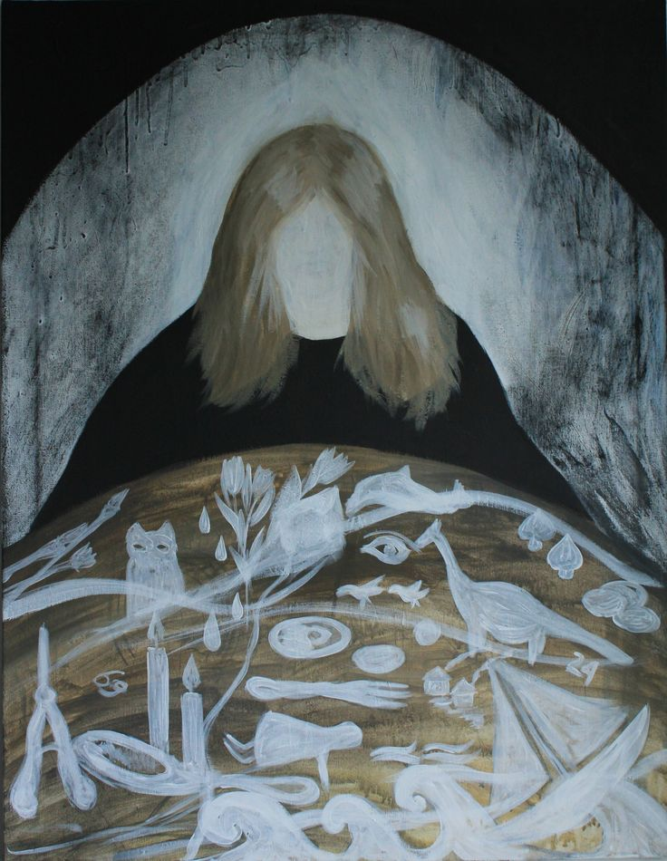 Gushtyuk Julia acrylic on canvas Memory