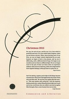 Christmas 2015. The Poster of Communion and Liberation - Other News