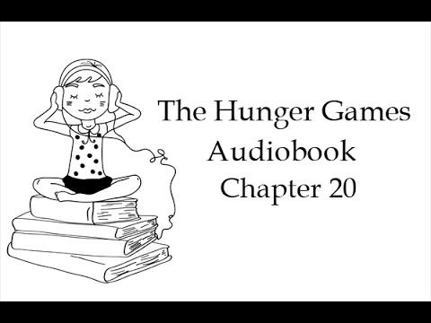 The Hunger Games. Book 1, Chapter 20. Audiobook in English with subtitles (unabridged). Listening skills training.   #tefl