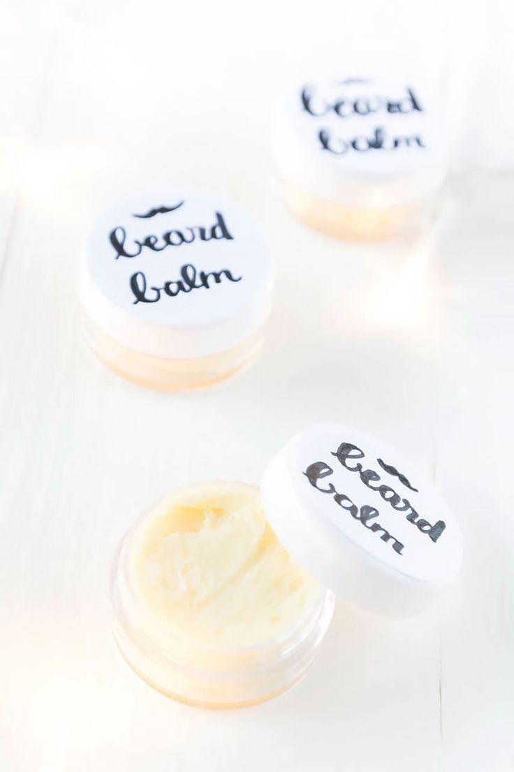 DIY Beard Balm selber machen - DIY Kosmetik Geschenke