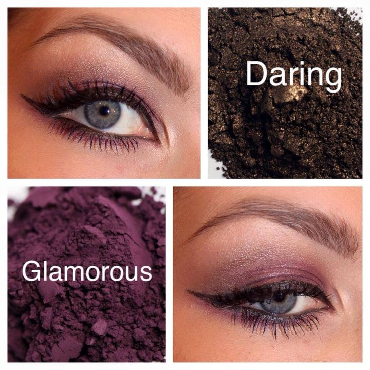 Feel Glamorous, Daring & Sexy with this look. And yes, those are the names of the eye pigments used to create this look. Our pigments are talc free and very pigmented. A little goes a long way. Pigments can be worn dry or wet for multiple looks. $12.50 per pigment or bundle 4 together and get them for ONLY $35