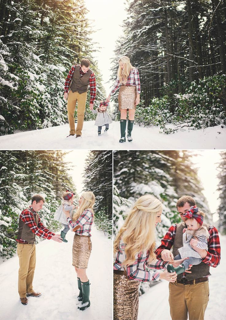 I can't get enough of this session. Makes me SO excited for our winter pictures!