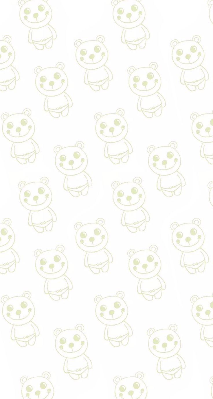 #pink #wallpaper #doodle #pattern #sweet #girly #cute #background #iphone #bear #underwear #funny