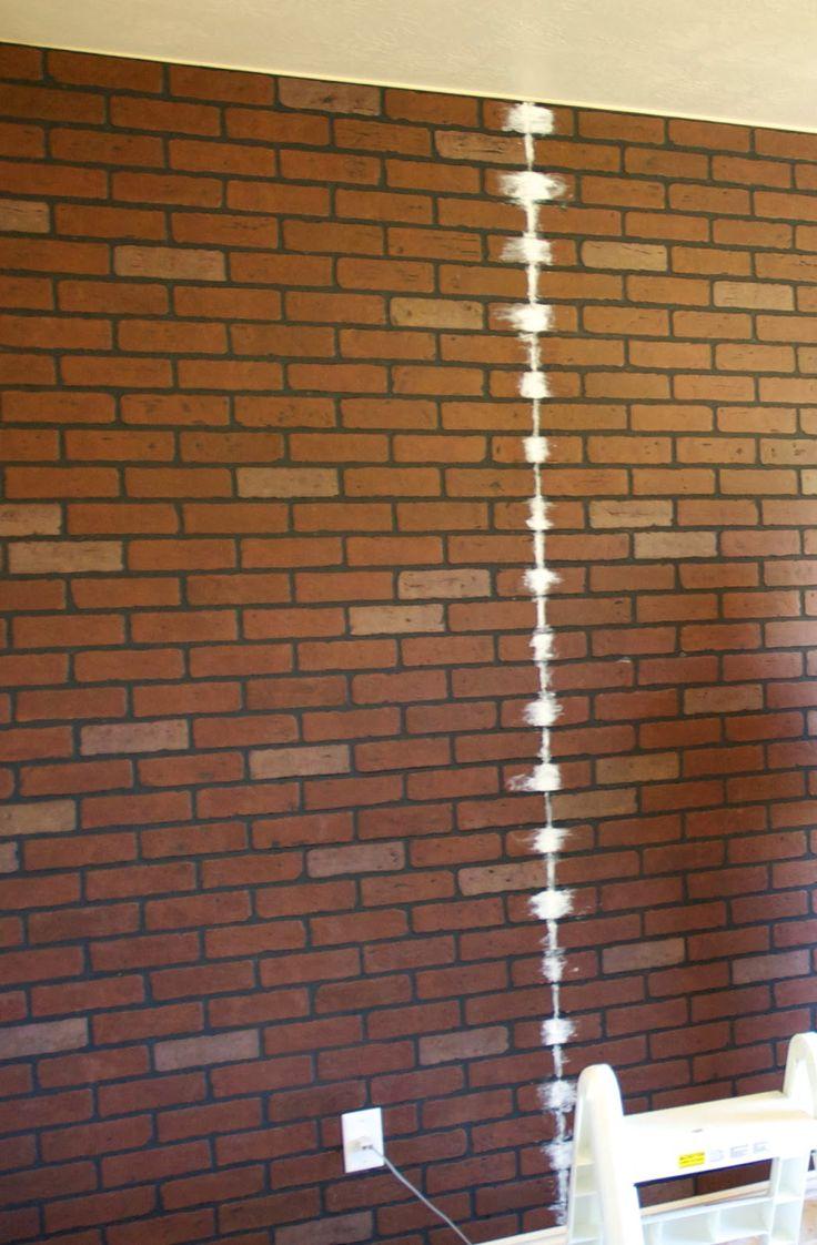 1000 Images About House Faux Brick Interior On Pinterest Brick Paneling Whitewashed Brick