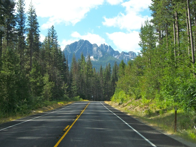North Cascades Highway in Washington State