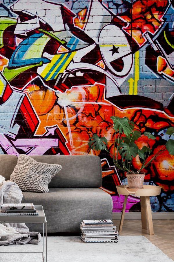 Street Graffiti Wall Mural Graffiti Wall Murals Pinterest Wall