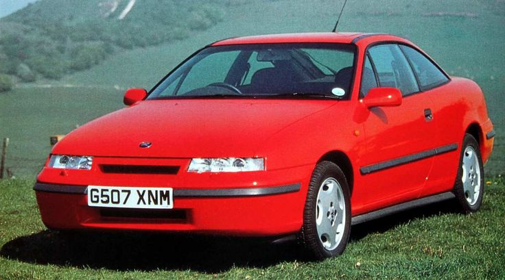 Vauxhall Calibra 2.0 16v Coupe. For a while, Vauxhall actually got it right.The Cavalier, upon which this car was based was really good, and other than the dreadful Ford Probe, there was virtually no competition for the Calibra. Why, oh why, didn't they develop it then?