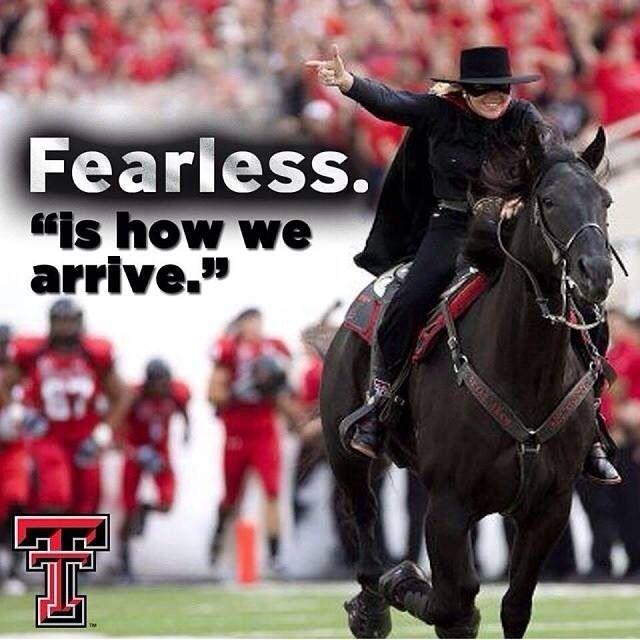 Texas Tech Always.... Fearless!!!