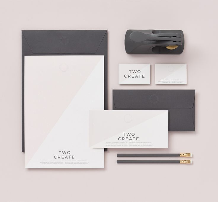 Corporate stationery by Two Create (UK) on Arjowiggins - Keaykolour 100% Recycled Particles Snow.