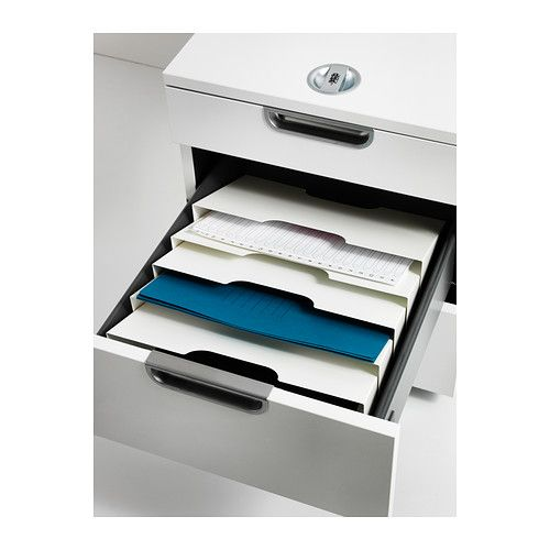 another cool idea for using mag rack   KVISSLE  Wall magazine rack, white  $14.99