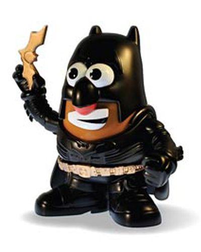 ¡Ahora Mr. Potato viene disfrazado de Batman!