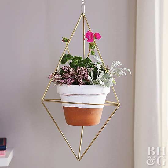 Three trends collide in this chic DIY project.