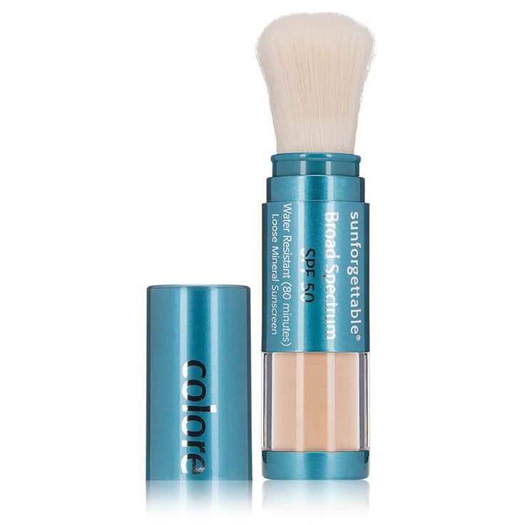 Face Powder: Colorescience Sunforgettable Loose Mineral Powder Brush Spf 50 - Medium Matte -> BUY IT NOW ONLY: $34.25 on eBay!
