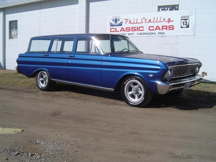 1964 Ford Falcon Wagon even better dream car