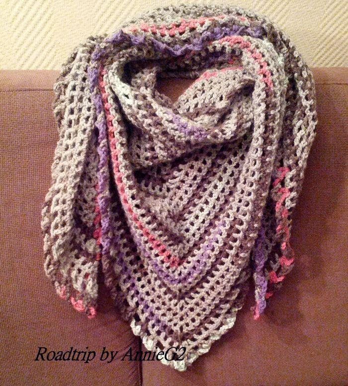 De roadtrip scarf, maar dan zonder bloementjes ...