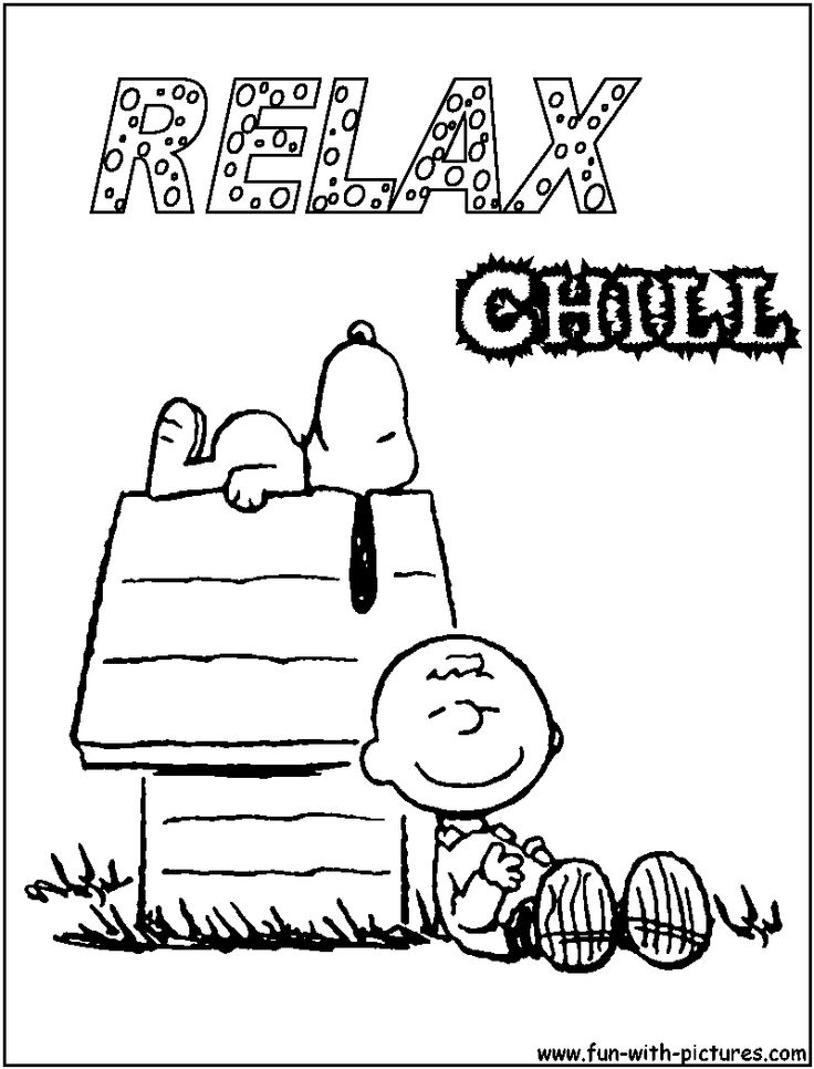 Coloring Pages Of Snoopy 48