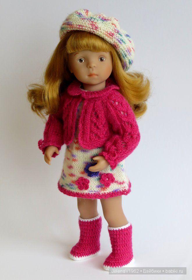 Розовое настроение ... Игровые куклы Käthe Kruse. Minouche / Другие интересные игровые куклы для девочек / Бэйбики. Куклы фото. Одежда для кукол