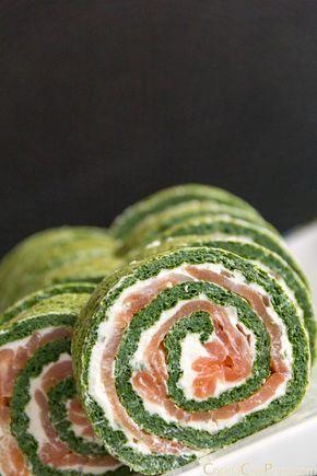 Este rollo de salmón y espinacas es ideal como aperitivo para las fiestas navideñas, perfecta para cualquier evento que tengáis en casa. Lo podéis encontrar dentro de la sección de Recetas Especial…