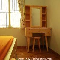 Bedroom Set, Tempat Tidur, Meja Rias, Jati Belanda