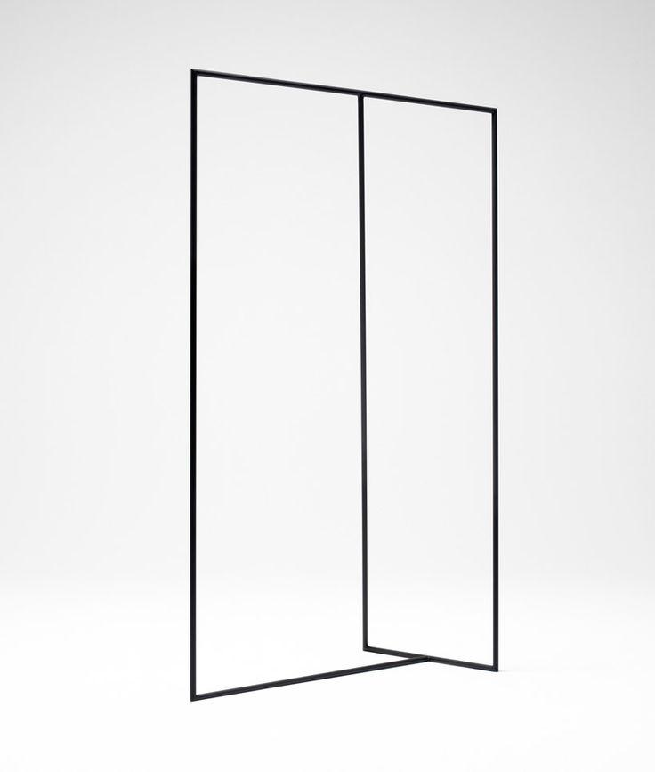 nendo: thin black lines + blurry white surfaces