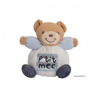 Neváhajte a využite výrazné uvádzacie zľavy na francúzske plyšové hračky Kaloo. Napríklad tohto svetlého plyšového medvedíka teraz kúpite so zľavou až 8 eur na http://goo.gl/T1oCzk