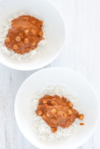 Butter Chickpeas. I really like this article that included with this ...