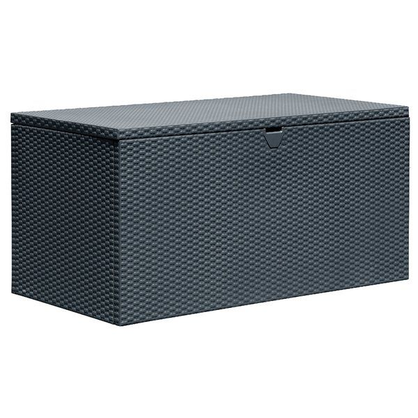 Spacemaker 134 5 Gallon Metal Deck Box With Images Patio Storage Outdoor Deck Box Metal Deck