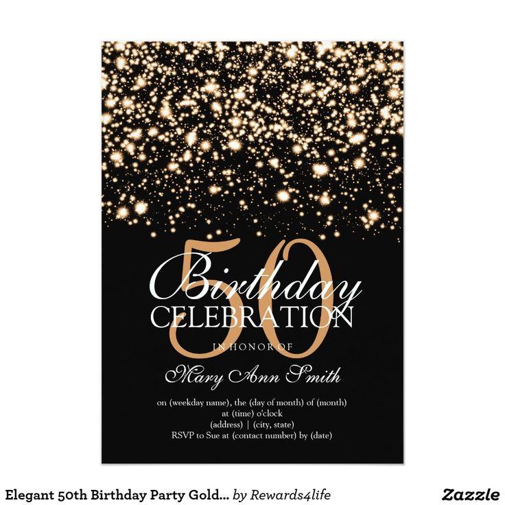 Best 20+ 50th Birthday Invitations ideas on Pinterest | 50th birthday party invitations ...